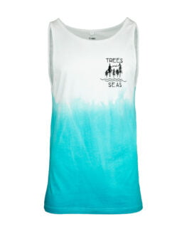 Trees & Seas Ombre Dyed Vest 1