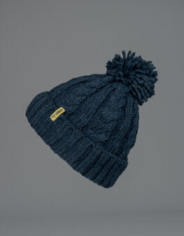 Cable Knit Beanie-2