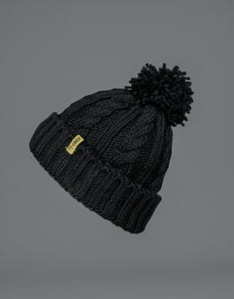 Cable Knit Beanie-3