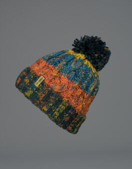 Corkscrew Cable Knit Beanie 2